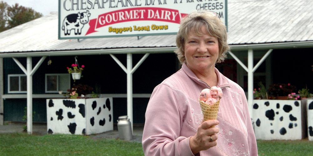 Visit the Maryland's Best Ice Cream Trail!